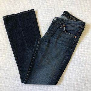 7 For All Mankind Flip Flop Jean